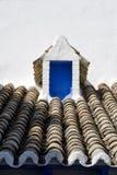 μπλε μικρό παράθυρο Στοκ εικόνα με δικαίωμα ελεύθερης χρήσης