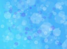 Μπλε μορφή backround Στοκ Εικόνες