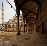 Μπλε μουσουλμανικό τέμενος, Κωνσταντινούπολη, Τουρκία στοκ φωτογραφία με δικαίωμα ελεύθερης χρήσης
