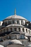 Μπλε μουσουλμανικό τέμενος στην Κωνσταντινούπολη Στοκ φωτογραφία με δικαίωμα ελεύθερης χρήσης