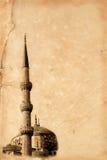 μπλε μουσουλμανικό τέμενος της Κωνσταντινούπολης στοκ φωτογραφία με δικαίωμα ελεύθερης χρήσης
