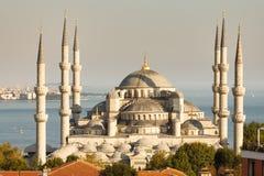 Μπλε μουσουλμανικό τέμενος Στοκ Φωτογραφία