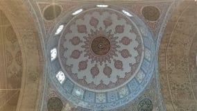 Μπλε μουσουλμανικό τέμενος, Sultanahmet Camii, λεπτομέρεια της Ιστανμπούλ, Τουρκία στοκ φωτογραφίες