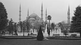Μπλε μουσουλμανικό τέμενος Sultanahmet Camii στοκ φωτογραφία