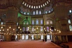 Μπλε μουσουλμανικό τέμενος Sultanahmet Camii στοκ φωτογραφίες