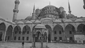 Μπλε μουσουλμανικό τέμενος Sultanahmet Camii στοκ εικόνες