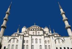 μπλε μουσουλμανικό τέμε Στοκ εικόνες με δικαίωμα ελεύθερης χρήσης