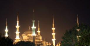 μπλε μουσουλμανικό τέμ&epsilon Στοκ εικόνες με δικαίωμα ελεύθερης χρήσης