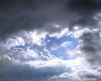 μπλε μπάλωμα Στοκ Εικόνα