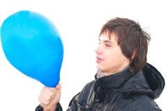 μπλε μπαλονιών Στοκ Φωτογραφία