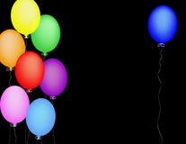 μπλε μπαλονιών ελεύθερη απεικόνιση δικαιώματος