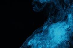 μπλε μυστικός καπνός στοκ φωτογραφίες