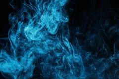 μπλε μυστικός καπνός στοκ εικόνες