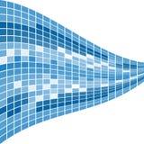 μπλε μωσαϊκό ανασκόπησης Στοκ φωτογραφία με δικαίωμα ελεύθερης χρήσης