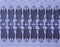 μπλε μωσαϊκό Στοκ φωτογραφίες με δικαίωμα ελεύθερης χρήσης