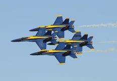 μπλε ναυτικό αγγέλων εμε Στοκ Εικόνα