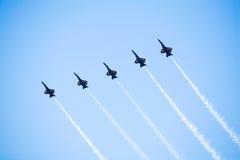 μπλε ναυτικό αεριωθούμενων αεροπλάνων αγγέλου Στοκ Φωτογραφίες