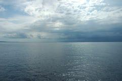 μπλε να λάμψει θάλασσας Στοκ εικόνα με δικαίωμα ελεύθερης χρήσης