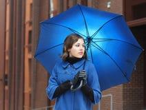μπλε νεολαίες βλαστών μό&del Στοκ Φωτογραφίες