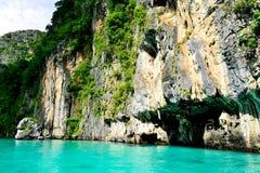 Μπλε νερό στην Ταϊλάνδη Στοκ εικόνες με δικαίωμα ελεύθερης χρήσης