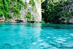 Μπλε νερό στην Ταϊλάνδη στοκ φωτογραφίες με δικαίωμα ελεύθερης χρήσης