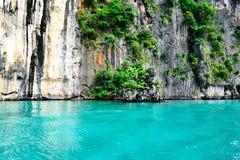 Μπλε νερό στην Ταϊλάνδη Στοκ Φωτογραφίες