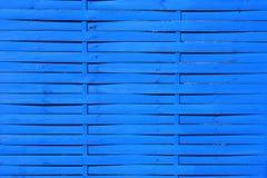 Μπλε ξύλινα slats Στοκ Φωτογραφία