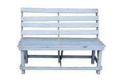 Μπλε ξύλινη καρέκλα Στοκ φωτογραφία με δικαίωμα ελεύθερης χρήσης