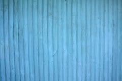 Μπλε ξύλινος τοίχος χρώματος Στοκ φωτογραφία με δικαίωμα ελεύθερης χρήσης
