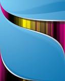 μπλε ομαλός ανασκόπησης Διανυσματική απεικόνιση