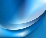Μπλε ομαλό πρότυπο κυμάτων Στοκ εικόνες με δικαίωμα ελεύθερης χρήσης