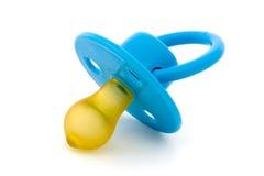 μπλε ομοίωμα μωρών πέρα από τ&omi Στοκ Εικόνες