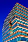 μπλε ουρανός γραφείων οικοδόμησης ανασκόπησης Στοκ εικόνα με δικαίωμα ελεύθερης χρήσης