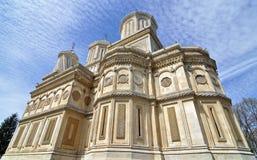 Μπλε ουρανός εκκλησιών Στοκ φωτογραφία με δικαίωμα ελεύθερης χρήσης