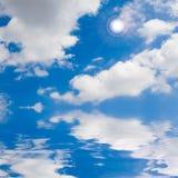 μπλε ουρανός θάλασσας η&l Στοκ φωτογραφίες με δικαίωμα ελεύθερης χρήσης