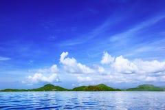 μπλε ουρανός θάλασσας Στοκ Εικόνα
