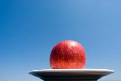 μπλε ουρανός μήλων Στοκ Εικόνα