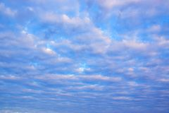 Μπλε ουρανός με τα άσπρα σύννεφα 171216 0002 Στοκ Εικόνες