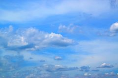 Μπλε ουρανός με το υπόβαθρο 171015 0056 σύννεφων Στοκ Εικόνα