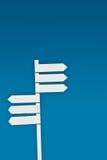μπλε ουρανός σημαδιών Στοκ Εικόνα