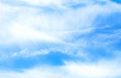 μπλε ουρανός σύννεφων Στοκ εικόνες με δικαίωμα ελεύθερης χρήσης