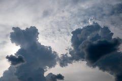 Μπλε ουρανός το καλοκαίρι Στοκ Εικόνες