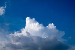 Μπλε ουρανός το καλοκαίρι Στοκ Εικόνα