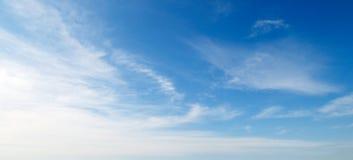 μπλε ουρανός Στοκ Φωτογραφία