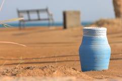 μπλε πάγκων καλαθιών Στοκ εικόνες με δικαίωμα ελεύθερης χρήσης