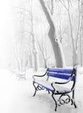 μπλε πάγκων Στοκ εικόνα με δικαίωμα ελεύθερης χρήσης