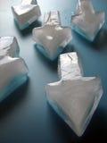μπλε πάγος βελών Στοκ Φωτογραφία