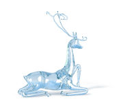 μπλε πάγος ελαφιών Απεικόνιση αποθεμάτων