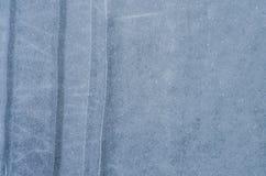 μπλε πάγος το χειμώνα στο κρύο καιρό με μια όμορφη σύσταση Στοκ εικόνα με δικαίωμα ελεύθερης χρήσης