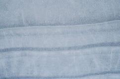 μπλε πάγος το χειμώνα στο κρύο καιρό με μια όμορφη σύσταση Στοκ Φωτογραφία